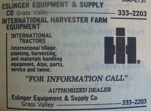 International Harvester Dealers of the Past